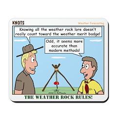 Weather Rock Mousepad