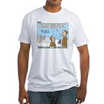 Salesmanship Fitted T-Shirt