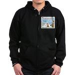 Salesmanship Zip Hoodie (dark)
