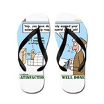 Salesmanship Flip Flops