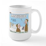 Salesmanship Large Mug