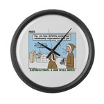 Salesmanship Large Wall Clock