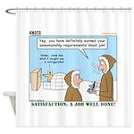 Salesmanship Shower Curtain