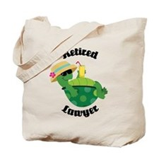 Retired Lawyer Gift Tote Bag