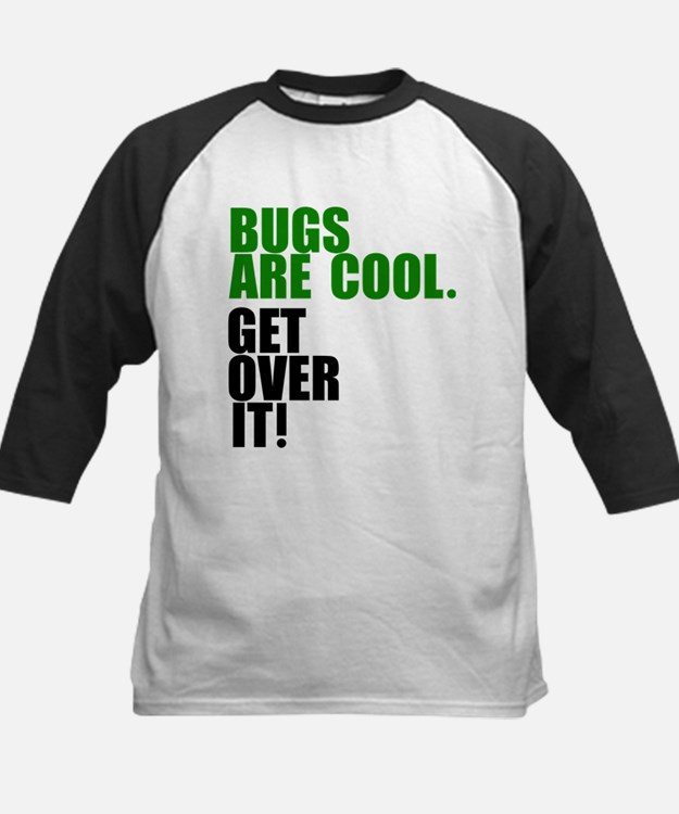 Bugs are cool. Baseball Jersey