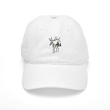Elk bones Baseball Cap