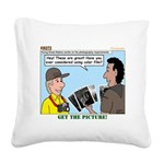 Photography Square Canvas Pillow