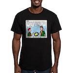 SCUBA Men's Fitted T-Shirt (dark)