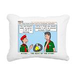 SCUBA Rectangular Canvas Pillow