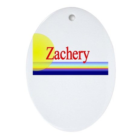 Zachery Oval Ornament