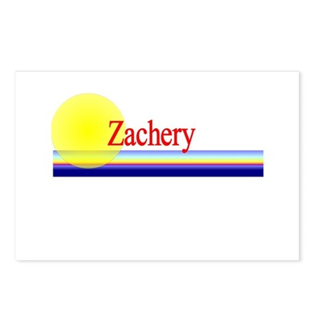 Zachery Postcards (Package of 8)