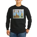 Crime Prevention Long Sleeve Dark T-Shirt