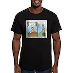 Crime Prevention Men's Fitted T-Shirt (dark)