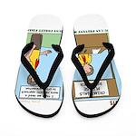 Crime Prevention Flip Flops