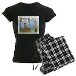 Crime Prevention Women's Dark Pajamas