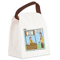 Crime Prevention Canvas Lunch Bag