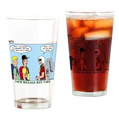 Jetpack Drinking Glass