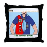 Trophy Room Throw Pillow