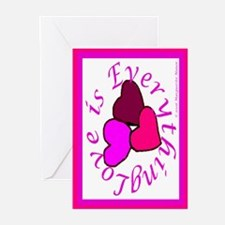 Love is Everything Greeting Cards (Pk of 10)