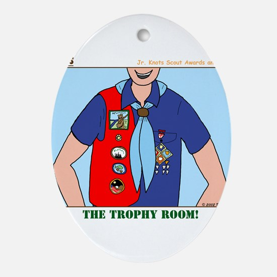 Trophy Room Ornament (Oval)