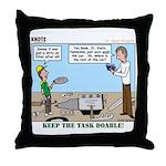 Handyman Throw Pillow