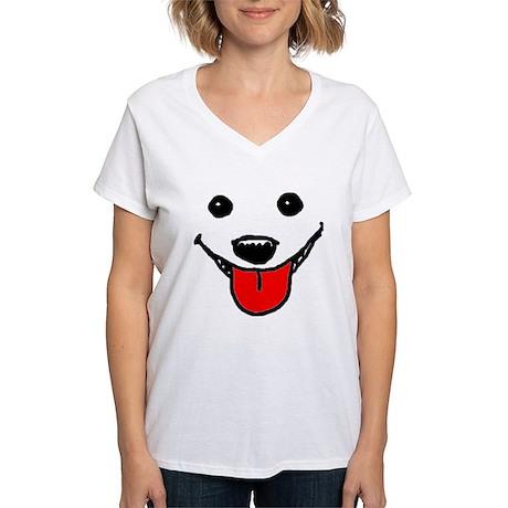 Happy Dog Face T-Shirt
