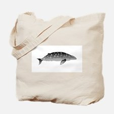 Gray Whale Tote Bag
