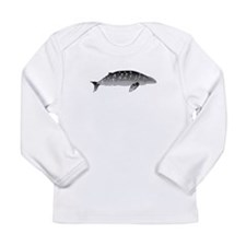 Gray Whale Long Sleeve Infant T-Shirt