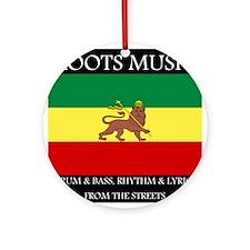 Roots Music Lion of Judah Ethiopia Flag Ornament (