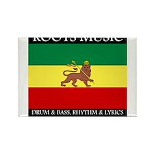 Roots Music Lion of Judah Ethiopia Flag Rectangle