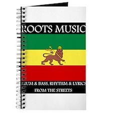 Roots Music Lion of Judah Ethiopia Flag Journal