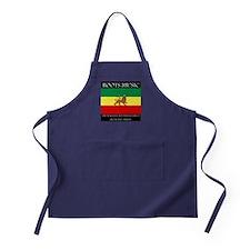 Roots Music Lion of Judah Ethiopia Flag Apron (dar
