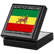 Roots Music Lion of Judah Ethiopia Flag Keepsake B