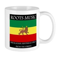 Roots Music Lion of Judah Ethiopia Flag Mug