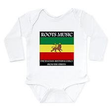 Roots Music Lion of Judah Ethiopia Flag Long Sleev