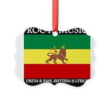 Roots Music Lion of Judah Ethiopia Flag Ornament