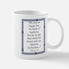 We Few, We Happy Few Mug