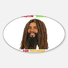Rasta Obama for President Obama in Dreadlocks Stic