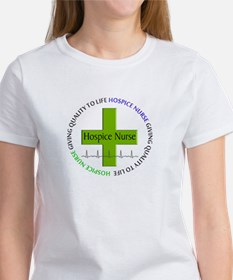 hospice nurse giving qulaity life 2.PNG Tee