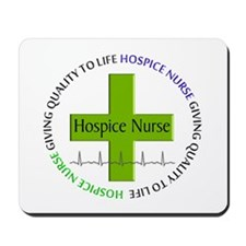 hospice nurse giving qulaity life 2.PNG Mousepad