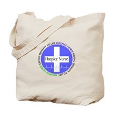 Hospice Nurse giving quality life.PNG Tote Bag