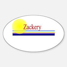 Zackery Oval Decal