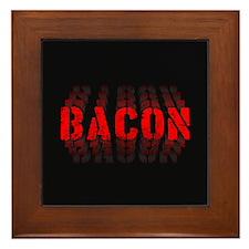 Bacon Fade Framed Tile