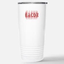 Bacon Fade Stainless Steel Travel Mug