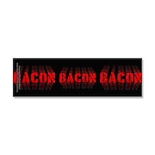 Bacon Fade Car Magnet 10 x 3