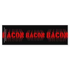 Bacon Fade Bumper Sticker