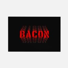 Bacon Fade Rectangle Magnet (100 pack)