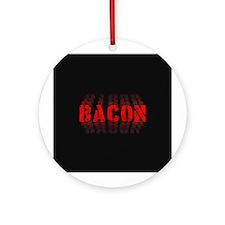 Bacon Fade Ornament (Round)