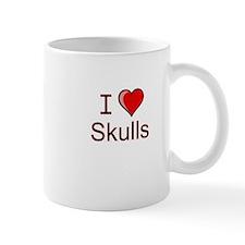 I love skulls Mug