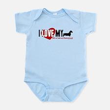 Dachshund [wire-haired] Infant Bodysuit